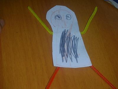 5歳の長男の作品